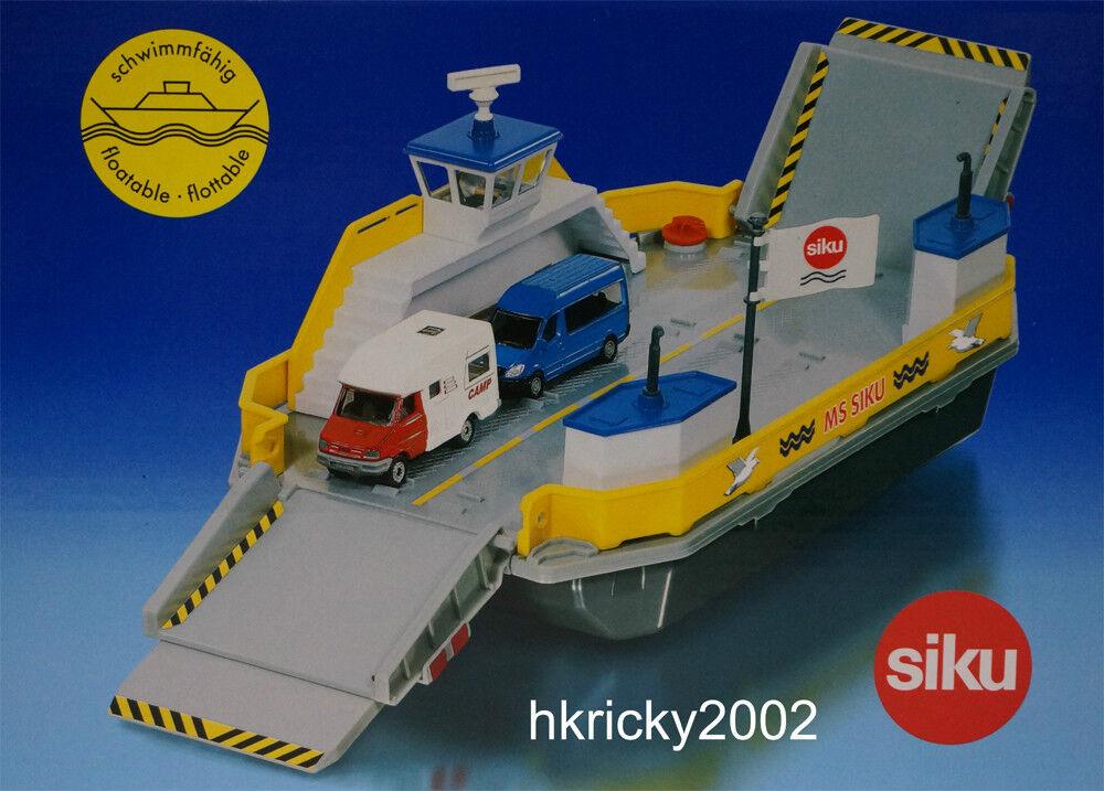 SIKU SUPER 1750 1 50 Gilet Ferry voiture avec  Camping voiture & Multivan modèle  livraison gratuite