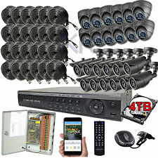Sikker Standalone 32Ch Channel DVR 24 1080P Megapixel Camera Security system 4TB