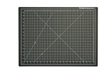 "Dahle 10672 Vantage Cutting Mat, 18"" x 24"", Black"