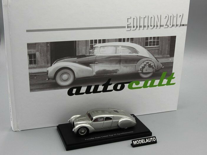 Autocult 1 43   Porsche-AutoUnion Type 52 & Book of the Year 2017  L.E. 333 pcs.