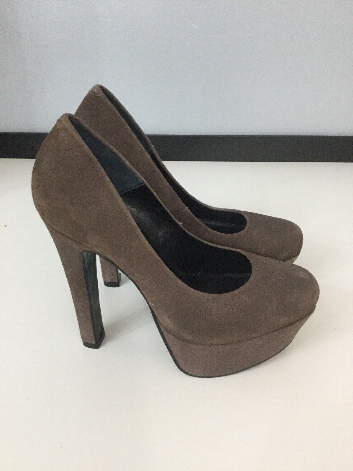 Kurt Geiger Womans marron Faux Suede Taille Uk 6 Eu 39 High Heels chaussures