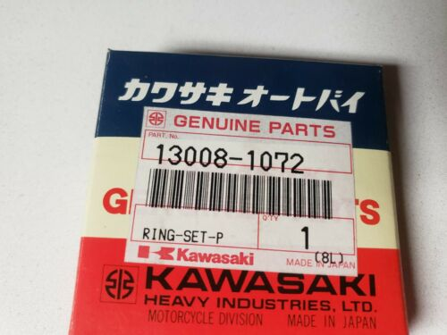 OEM Kawasaki Motorcycle 88-90  Eliminator Ninja Piston RING KIT 13008-1072 NOS