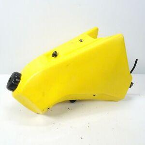 89-96-Suzuki-RMX250-RMX-250-Yellow-Gas-Fuel-Petrol-Tank-Mounts-Cap-Petcock-EO