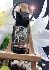 Fotogravur Vom Eigenem Foto Schlüsselanhänger Als Geschenkidee Für Mann Und Frau