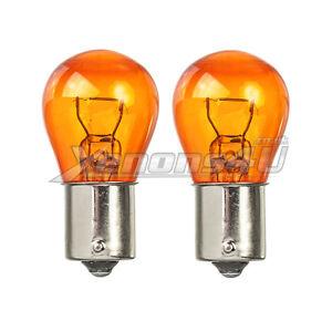 Amber-Turn-Signal-Front-Rear-Indicator-Flasher-Light-Bulbs-BAU15S-PY21W