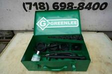 Greenlee Knock Out Hydraulic Punch And Die Set 7310 12 To 4 Nice Set Bg4
