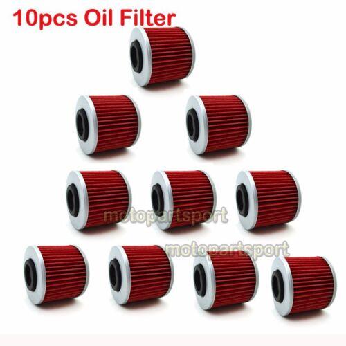 10x Oil Filter For Yamaha XV750 XV535 XV250S XV1100 Virago SR 250 500 XT 400 TT