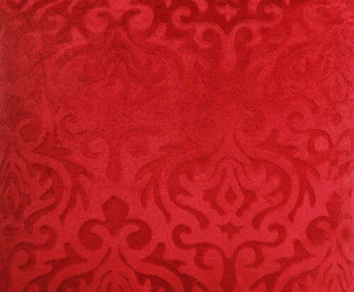 5 pcs Velours Rouge Housse de coussin Lot de 5-16x16 pouces