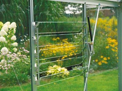 Automatischer Fensteröffner Vitavia Gewächshaus Öffner bis 7 kg alu blank