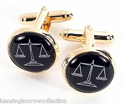 """LEGAL MENS GIFTS LAWYER CUFFLINKS /""""WHAT/'S THE VERDICT?/"""" CUFF LINKS"""