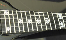 Crimson Ghost Misfits Skull MOP Fret Markers Inlay Stickers for BASS and GUITAR