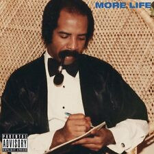 Drake More Life 2017 Album Playlist 2016 Sealed 2 CD Explicit PA Artwork Case