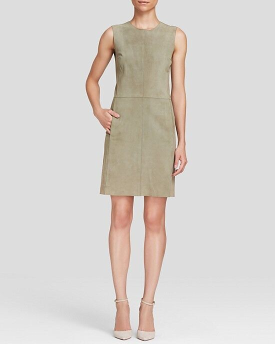 Vince Dress - Sleeveless, SIZE SMALL, LIGHT BEIGE, NATURAL COLOR, S