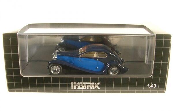 Bugatti t46 Super Profilo Coupe (blu blu) 1930