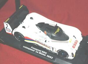 Very-Rare-1-Esso-Peugeot-905-1992-Le-Mans-24-Hr-Winner-1-18-New-Mint-by-Norev