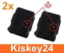 2x Schlüssel Gehäuse Abdeckung für OPEL MERIVA CORSA C COMBO ASTRA  Reparatur