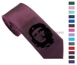 Che-Guevara-Men-Woven-Skinny-2-5-034-Party-Tie-Necktie-K42