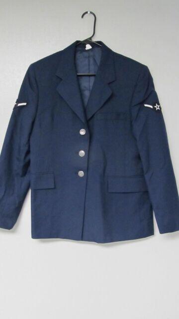 USAF US AIR FORCE JACKET SERVICE DRESS SUIT UNIFORM COAT WOMANS WOMENS s m l xl