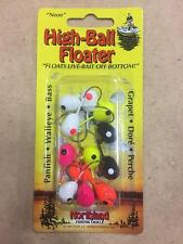 Select One Northland Jigs Gum Ball Sink/'n Buck Shot Spr Glo Disc USA NIP
