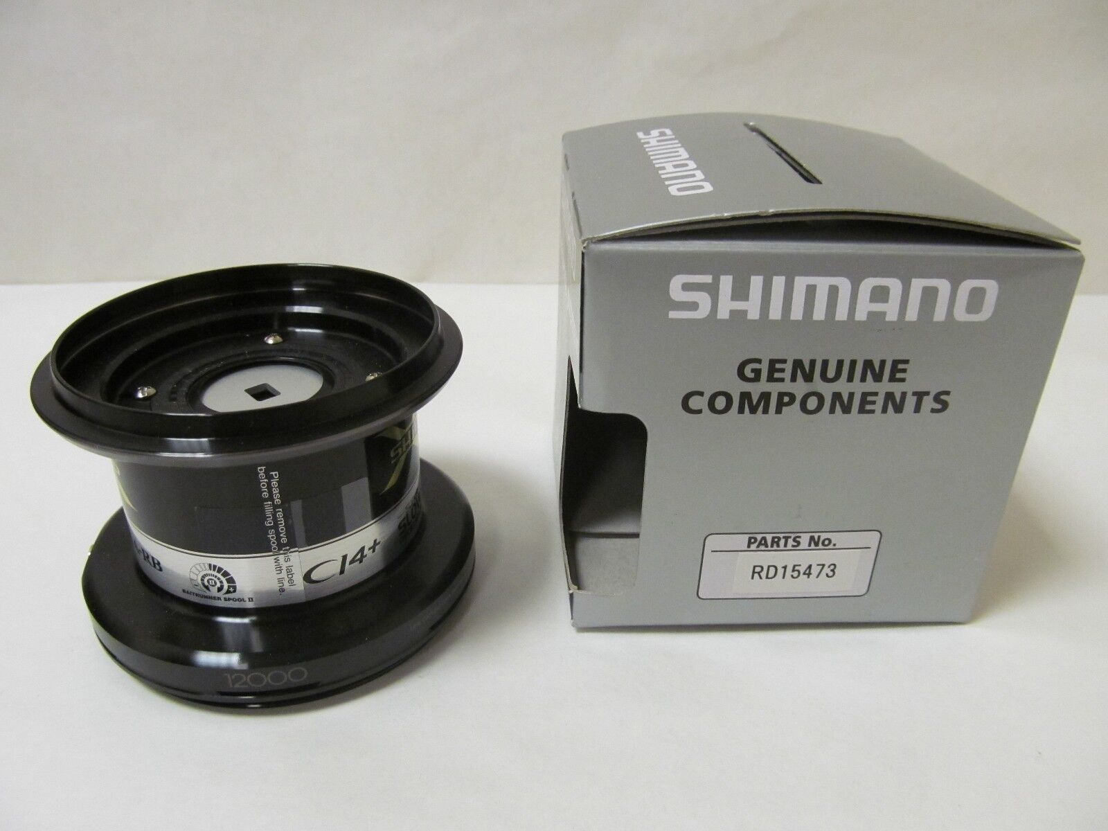 SHIhommeO SPARE SPOOL TO FIT AERO TECHNIUM MGS 12000 XT-B (RD 15473)