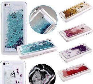 Détails sur COQUE iPHONE 5C LIQUIDE PAILLETTES & ETOILES SILICONE RIGIDE (TPU)