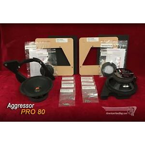 for harley touring american hard bag aggressor pro 80 pair 8 woofer
