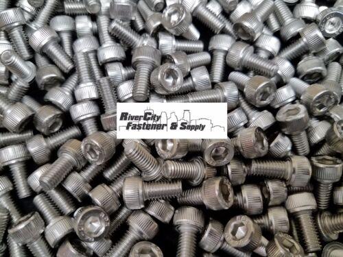 Allen Head Cap Screw Stainless Steel 5mm x 10mm M5-0.8x10mm Socket 100