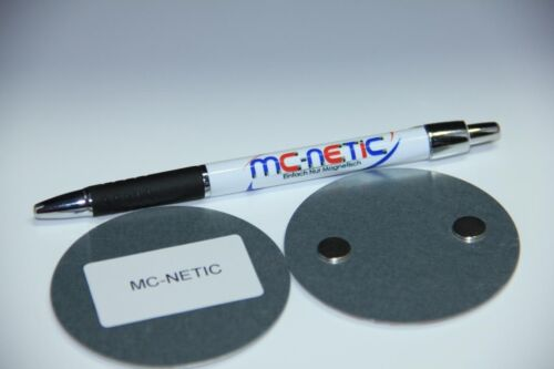 1-100 Stück Magnethalterung Magnetbefestigung Rauchmelder Magnet Halterung 3M