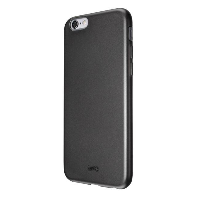 Artwizz SeeJacket TPU Cover für Apple iPhone 6 Plus in Schwarz Hülle Case Tasche