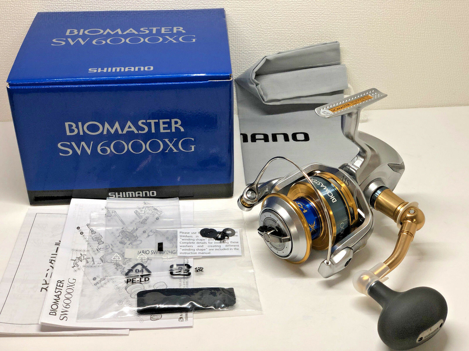 SHIMANO 16 BIOMASTER SW 6000XG   - Free Shipping from Japan
