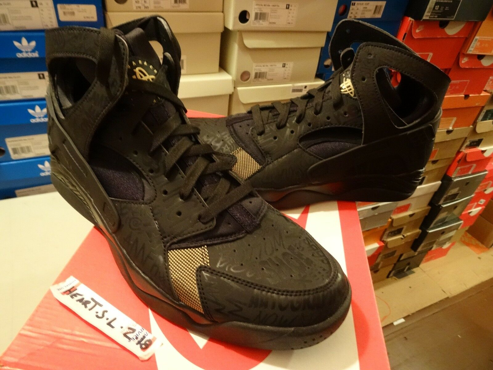 df441f94e99856 DS Nike Air Flight Huarache Huarache Huarache PRM QS Trash Talk Fab Five SZ  10.5 686203