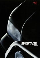 Kia Sportage Zubehör Prospekt 12 95 brochure 1995 Autoprospekt Broschüre Auto