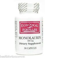 Cardiovascular Research Ecological Formulas/Cardiovascular Res Monolaurin 90 Capsules Nutrition