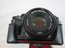 VTG SEARS KS SUPER SLR 35MM FILM CAMERA WITH 50MM LENS AND CAMERA CASE