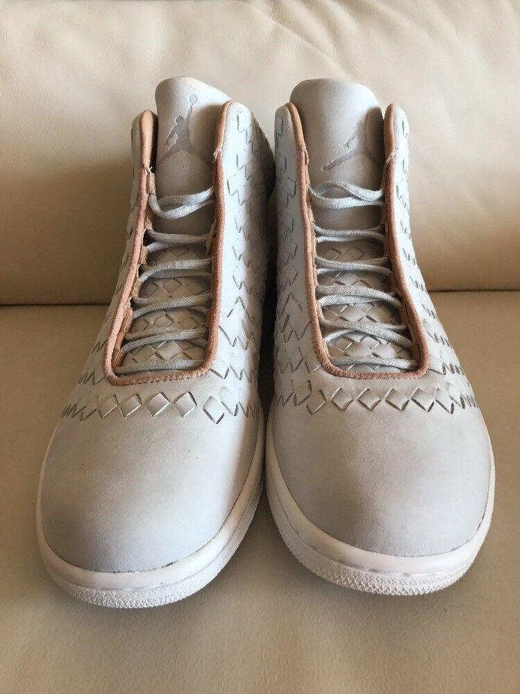 Nike Air Jordan Shine Sz 9.5 DS Pure 1 Platinum Vachetta Tan Retro 1 Pure 689480-003 6d147b