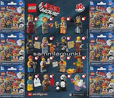 1 Lego ® Mini Personaggio-in Dvb O Ovp-di Loro Scelta A. Serie Lego Movie-lego #71005-mostra Il Titolo Originale