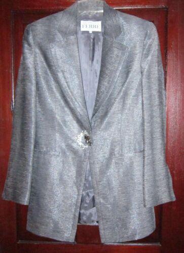 Gianfranco Ferre Italy 40 Long Blazer Jacket Suit