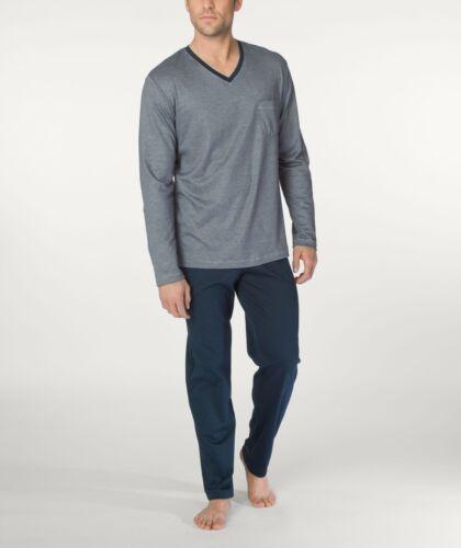 sans revers Art Calida Messieurs Pyjama Pyjama long 48465 neu/&ovp