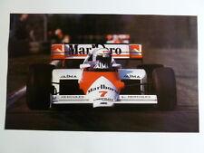 1985 Marlboro McLaren MP4/1 F1 Print Picture Poster RARE!! Awesome L@@K