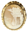 """thumbnail 2 - Antique Bible  GF Gold filled Rebecca by The Well Cameo Brooch Pin Victorian 2"""""""