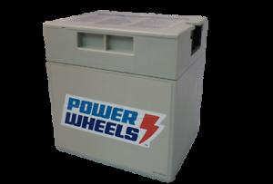 Power Wheels Genuine OEM 00801-0638 Battery 12 Volt Gray Grey 12V *NEW*