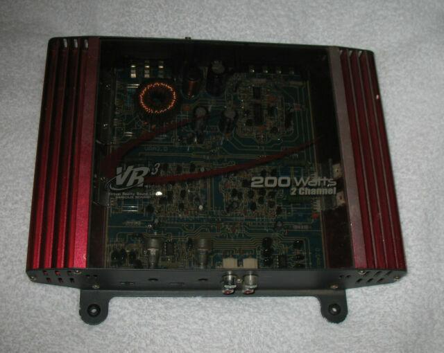 Vr3 Vra2 0 Amp 200 Watt 2 Channel Mosfet 2 Ohm Car Audio Power Amplifier For Sale Online Ebay