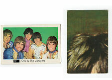 1960s Swedish Pop Star Card #12 Ola & The Janglers with Beatles Sectional Back