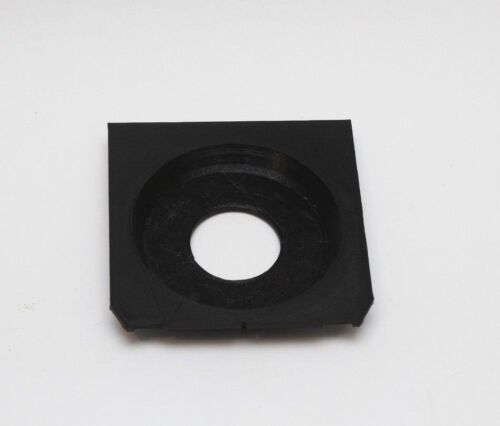 Lens Board for Linhof Wista Shen hao Ebony copal #0 Recessed 12mm center hole