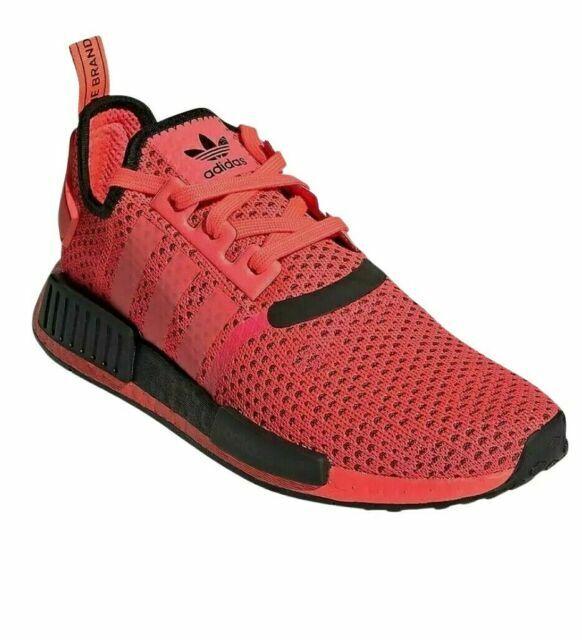 Size 9 - adidas NMD R1 Knit Signal Pink 2020