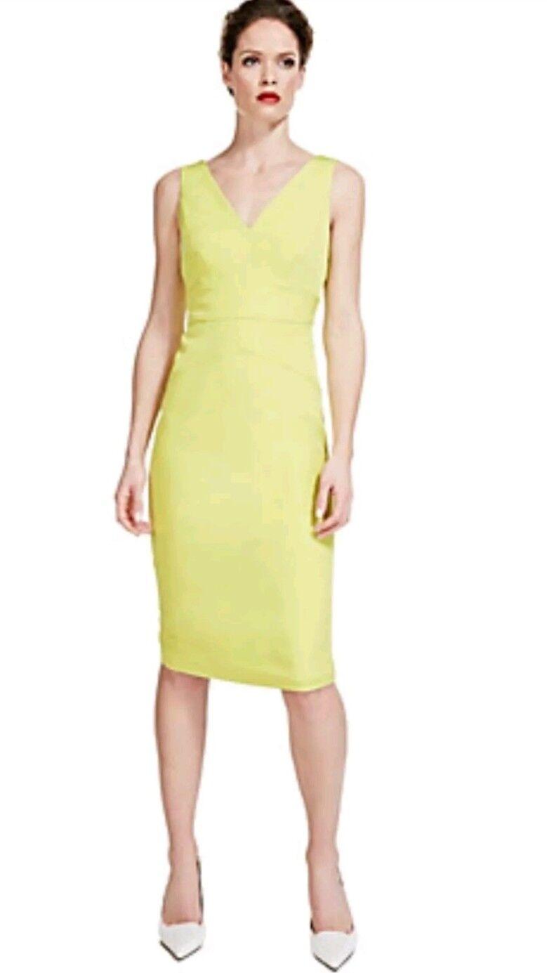 BNWT M&S Per Una Speziale Panelled Bodycon Dress in Size 12 UK
