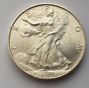 Freedom Rarities Walking Liberty 1 Troy Oz 999 Fine Silver Round Ebay