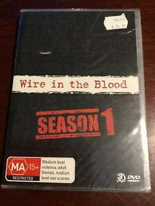 WIRE-IN-THE-BLOOD-Season-One-New-Sealed-3-DVDs-R4-PAL