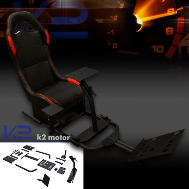 Racing Simulator Cockpit Driving Race Chair Gaming Seat for PS3 PS4 XBOX Shifter