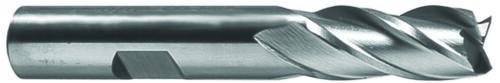 """7//8 x 5//8/"""" Shank 6F Cobalt Steel Center Cutting Single End Mill"""